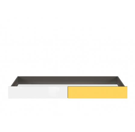 GRAPHIC (S343) SZU/C šedý wolfram/žlutá/bílý lesk (laminát)
