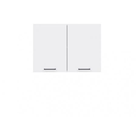 Kuchyně Junona Line, G2D/80/57, bílá/bílý lesk