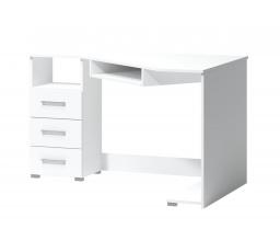 Rohový psací stůl Fatra 17 levý bílý