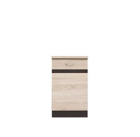 Kuchyně Junona Line, spodní skříňka D1D/50/82L wenge/dub sonoma