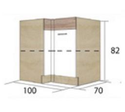 ECONO 14D - dolní skříňka pravá
