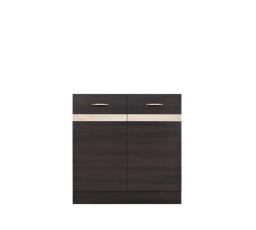 Kuchyňská skříňka dřezová Junona line DK2D/80/82 wenge/wenge