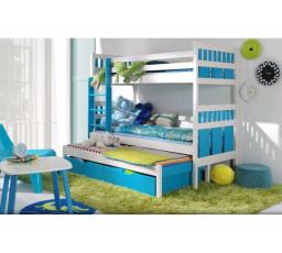 Dětská patrová postel z masivu MAXMILIÁN