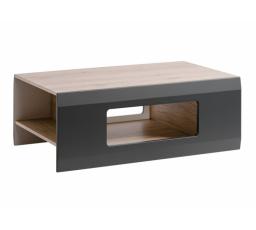 CLIF A - Konferenční stůl /barva San Remo+ Grafit mat