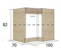 ECONO 15D - dolní skříňka levá