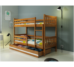 Patrová postel z masivu CARINO OB