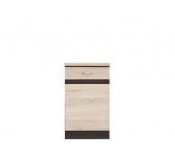 Kuchyně Junona Line, spodní skříňka D1D/50/82 P wenge/dub sonoma
