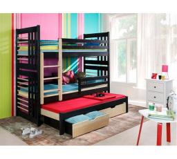 Dětská patrová postel z masivu RONALD III