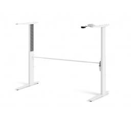 Výškově nastavitelné nohy stolu Office 448 bílé