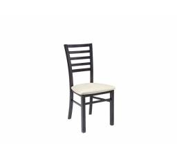 """Židle MARYNARZ """"II"""" POZIOMY wenge (TX023)/TK1076"""