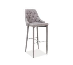 Barová židle Trix H-1 šedá