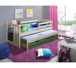 Dětská postel z masivu ŠIMON
