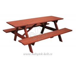 Dřevěná zahradní sestava