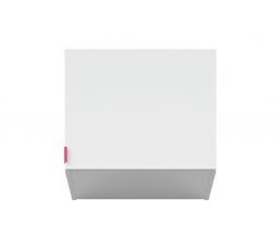 PRINCETON NAD/50 (nadstavec nad skříň) bílý lesk/fuchsiová
