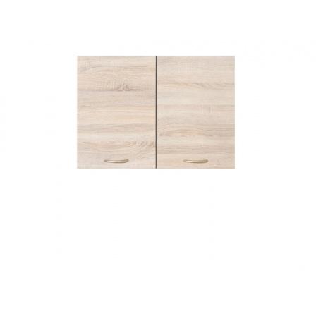 Kuchyňská skříňka Junona Line G2D/80/57, wenge/dub sonoma