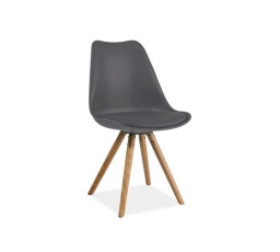 Jídelní židle ERIC - šedá