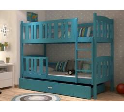 Patrová postel z masivu KUBA