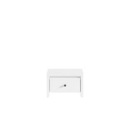 Noční stolek KARET KOM1S bílá