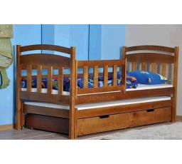 Dětská postel z masívu - JANIČKA