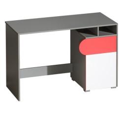 Psací stůl FUTURO F8 / Briliantovábílá / grafit